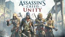 مطلوب لعبة Assassin's Creed Unity PS4
