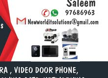 cctv camera Video  phone electronic sliding gate and swing gate