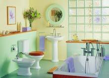 ترميم و تشطيب وتجديد الحمامات بتصميم 3D- خبرة 20 سنة