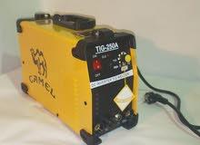 ماكينة لحام ارجون وكهرباء 250امبير
