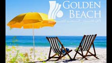 شاليه متشطب سوبر لوكس بقريه Golden Beach براس سدر بأقل سعر ممكن