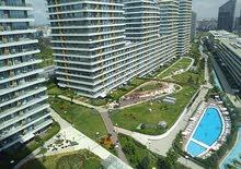 للبيع FOR SALE 1+1 BATISEHIR ISTANBUL  منظر طبيعي K2 BLOCK 77M2 + BALCONY UNIQUE