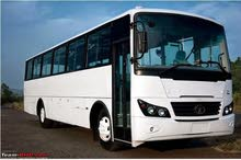 ابحث عن عقود نقل عمال لباص 66 راكب تاتا الباص موديل 2013 مكيف
