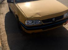 Manual Yellow Peugeot 2012 for sale