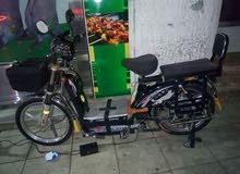 مطلوب دراجة كهربائيه 5 بطاريات اخت لاوكاله بسعر لا يتجاوز 400دينار عنوان أربد