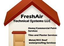 Painting, Tiles, Plaster or Metal/RCC Roof Waterproofing Services?