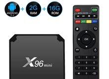 رسيفر اندرويد TV BOX X96 MINI