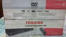 جهاز DVD ماركة توشيبا ياباني اصلي جديد بالباكيت