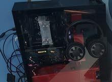 كمبيوتر مكتبي للألعاب ومونتاج الصور والفيديو  Gaming Computer and editing