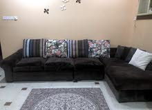 sofa set in medium condition nice color very good price