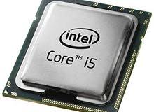 معالج cpu core i5 يعمل على لوحات الجيل الثالث والثاني