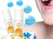 رغوة لتبيض الاسنان