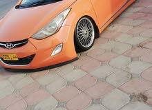 Hyundai Elantra car for sale 2012 in Al Masn'a city