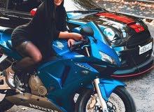 دراجه سوزوكي خفاش اقره الوصف
