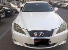 LEXUS IS300 2007 GCC RECENTLY FULL MAINTAINED IN A PERFECT CONDITION- ABU DHABI