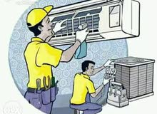 Ac Technician and any other inside work. 2 years Experience in oman.