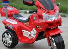 دراجة نارية كهربائية قوية لعمر 4 سنوات فما فوق