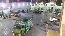 محطة غسيل سيارات للبيع في اربد
