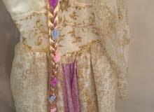 فستان الأميرة ربانزل