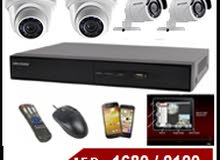 Ramadan Offer AED.1680 - 4Channel CCTV KIT