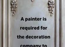 مطلوب رسام لمؤسسة ديكورات للتواصل 38285610