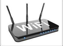 تقوية الاانترنت داخل المبنى والتوزيع لاكثر من طابق و شبكات واي فاي WIfi
