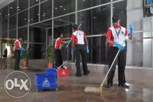 مطلوب عمال نظافة بالرياض --A cleaner is required to work