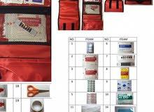 حقيبة إسعافات أولية مدرسية ومنزلية