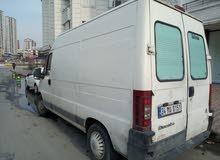 شاحنة صغيرة فيات دوكاتو للايجار السنوي الايجار2500 ليرة شهريا