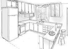 خاطرك ادير مطبخ لحوشك بأقل التكاليف وبجودة تشطيب عالية.