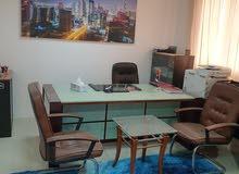 مكتب مجهز ومفروش للايجار