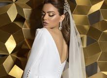 فستان مناسب لعرائس كورونا
