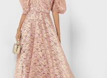 فستان سهرة مستعمل مرة واحدة فقط! ب 150 درهم