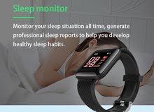 اسود Smart bracelet LH719