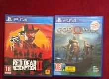 red dead 2 + god of war