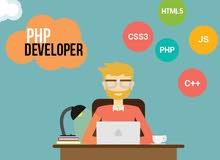 مطلوب مبرمج php يتقن برمجة أنظمة وتطبيقات الويب والمتاجر الإلكترونية