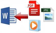 كتب  مذكرات وصحف وتحويل جميع ملفات pdf
