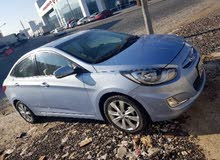 Hyundai Accent 2013 For sale - Blue color