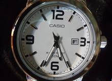 ساعة CASIO استيك معدن