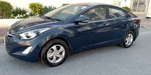 Hyundai Elantra in excellent condition model 2016 (Bahrain agent car)