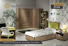 غرفة نوم شباب للبيع   كاش او اقساط