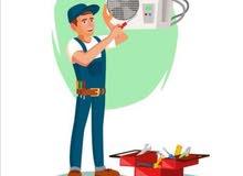 صيانة أجهزة التكييف بأيدي عمانية