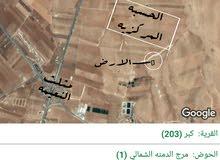 ارض بجانب الحسبه المركزيه-النعيمه -اربد / مرج الدمنه الشمالي/ ام الابار الجنوبي
