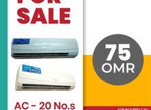 For sale, super general split air conditioner 20pcs