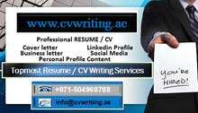 Well-constructed CV Writing- Quality Cover letter Services in the UAE