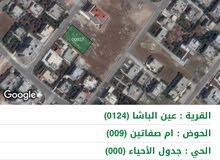 اراضي شمال عمان 989م (تنظيم ب) عين الباشا
