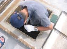 شركة العمران  0591264122 تنظيف وتعقيم خزانات وكشف تسربات المياه بالمدينة ا