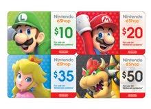 كروت نينتندو واشتراكات اونلاين Nintendo eShop gift card