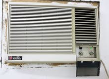 National 1.5 Ton Rotary Compressor Window AC good condition, washed