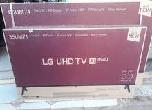 شاشة ال جي 55 بوصة UHD 4k